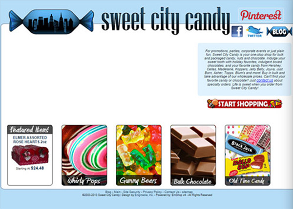 Sweet City Candy